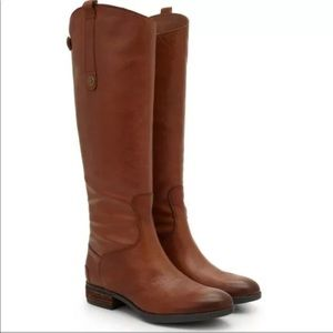 Sam Edelman Womens Penny Whiskey Riding Boots 6.5